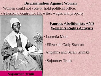 Womans Rights Movement  Power Point