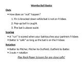 Womba Ball Basics Poster