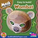 Wombat Mask | Printable Craft Activity