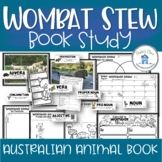 Wombat Stew Book Study and Printables