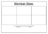 Wombat Stew Sequencing Activity