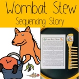 Wombat Stew Sequencing Story