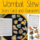 Wombat Stew Story Card and Characters