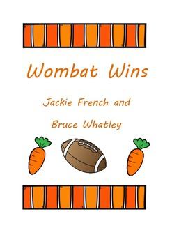 Wombat Wins Activities