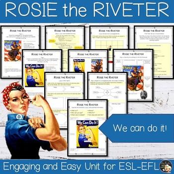 Women History Month - ESL Worksheets Bundle