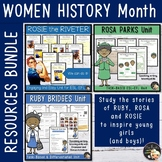Women History Month Units Bundle