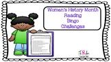 Women History Month Kids Reading Challenge
