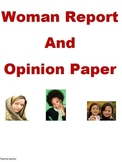 Women History Report and Opinion Paper