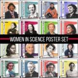 Women In Science Poster Set