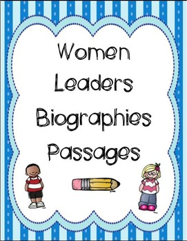 Women Leaders Biography Passages