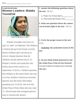 Women Leaders: Malala Yousafzai