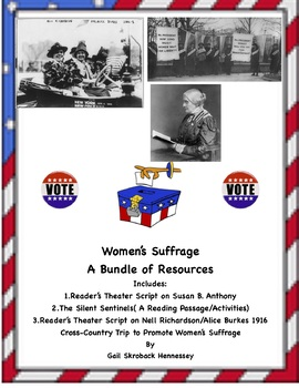 Women's Suffrage! A Bundle of Resources