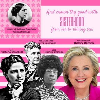 Women Who Ran For President/Suffrage