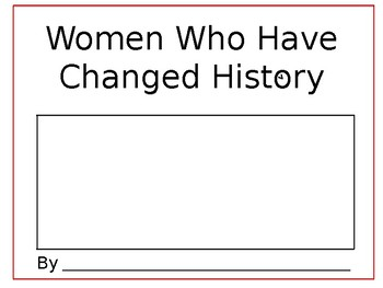 Women Who have Changed History