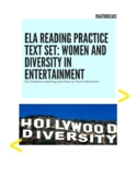 FSA ELA Reading Practice Test Women and Diversity in Entertainment