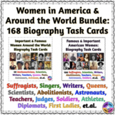 Women in America & Around the World BUNDLE: Biography Task