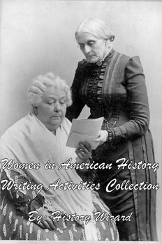Women in American History Writing Activities Collection