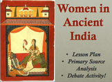 Women in Ancient India Lesson Plan