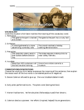 Women in Aviation Comprehensive Study Guide