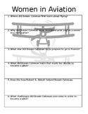 Women in Aviation Quick Check for Understanding