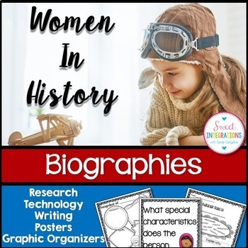 WOMEN'S HISTORY MONTH: Biography Study