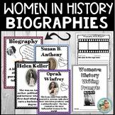 Women in History MONTH Activities - Biography