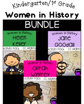 Women in History Activity Pack BUNDLE