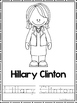 Women in History Coloring Book worksheets.  Preschool-2nd Grade