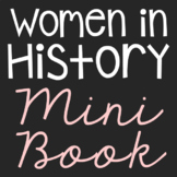 Women in History Mini Book, Women's History Month Craft, B