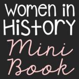 Women in History Mini Book, Women's History Month Craft, B