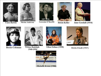 Women in History (Musical Video Slide Show)|Women's History Month|Women Leaders