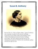 Women in History Project FREEBIE-DIFFERENTIATED INSTRUCTION
