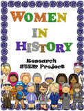 Women in History Research/STEM project