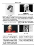 Women in History Scavenger Hunt