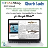 Women in History Shark Lady STEM Story Extensions for Use