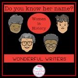 Women in History Wonderful Writers