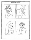 Women in History Worksheets
