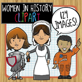 Women in History (and Current Events) Clip Art