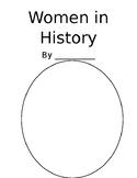 Women in History booklet