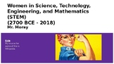 Women in STEM - A Slideshow for Women's History Month