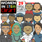 Women in STEM Clip Art