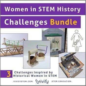 Women in STEM History Engineering Challenges Bundle