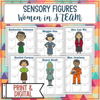 Women in STEM Sensory Figure Body Biographies