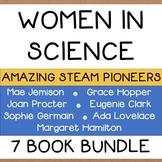 Women in Science Bundle 7 Picture Books 100+ Extension Activities NO PREP