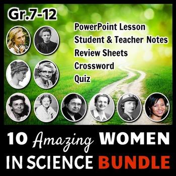 Women in Science - LESSON BUNDLE {Editable}