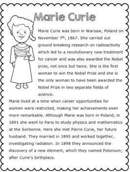Women in Science Research Task BUNDLE