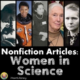 Women in Science Nonfiction Close Reading Passages