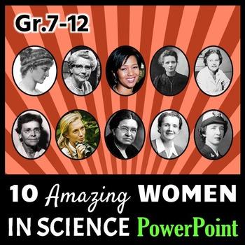 Women in Science - PowerPoint {Editable}