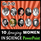 Women in Science - PowerPoint {Editable}
