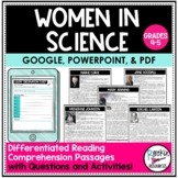 Women in Science   Reading Comprehension Passages   Text D